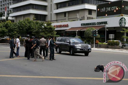 Polda : Ledakan depan Starbucks bukan bunuh diri
