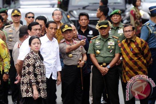 BOM JAKARTA - Presiden: kondisi keamanan Jakarta sudah terkendali