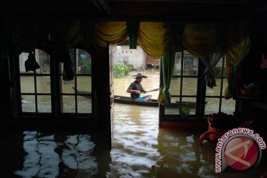 Ratusan rumah di Kotawaringin Timur kebanjiran