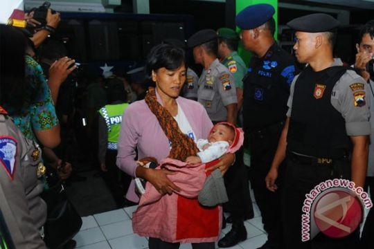 Puluhan mantan Gafatar tiba di Boyolali