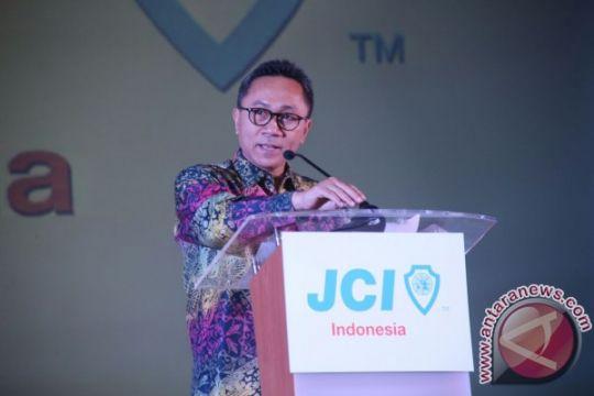 Ketua MPR ingatkan soal Pancasila di depan JCI Indonesia