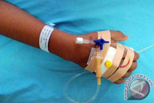 Pasien DBD rumah sakit di Lebak 560 orang