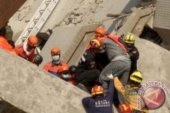 Presiden Taiwan tersentak oleh dahsyatnya gempa 6,4 Magnitudo