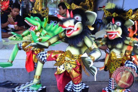 "PAUD ikuti parade ""Ogoh-Ogoh"" menjelang Nyepi"