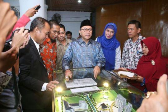 Ketua MPR letakkan batu pertama kampus II Universitas Muhammadiyah Kendari