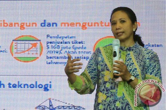 Menteri BUMN tinjau nasabah mikro di Sukabumi