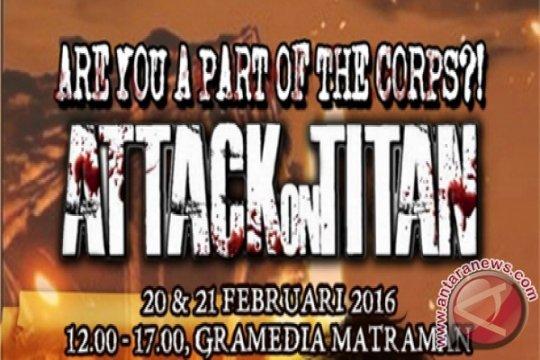 Rayakan kesukesan penjualan komik digital ATTACK ON TITAN di Indonesia, MangaMon menyelenggarakan event spesial di Gramedia Matraman