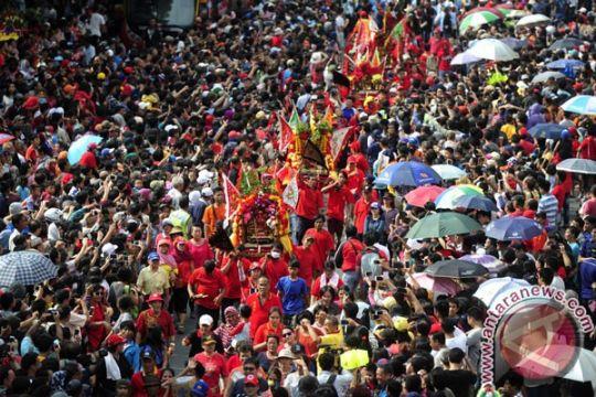 Warga Tionghoa Padang rakyakan Cap Go Meh