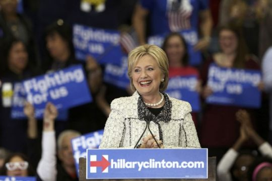 "Jelang ""Super Tuesday"", Hillary menyapu South Carolina"