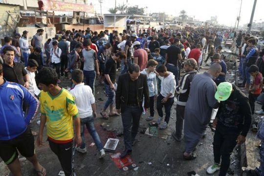 Jumlah korban jiwa akibat ledakan di Baghdad naik jadi 14