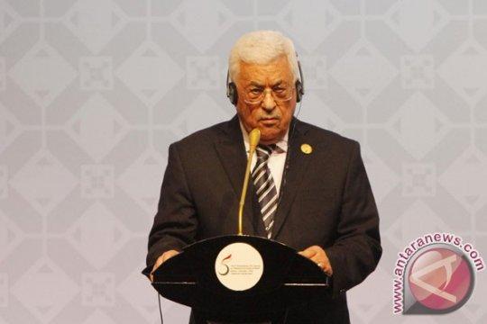 Abbas bahas perkembangan terkini dalam masalah Palestina dengan PM Irak