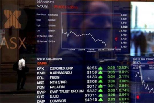 Bursa Australia anjlok ketika pasar saham global masuki krisis