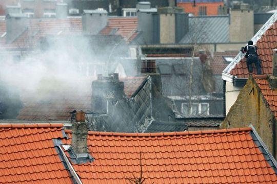 Tiga polisi terluka dalam aksi penembakan di Brussels