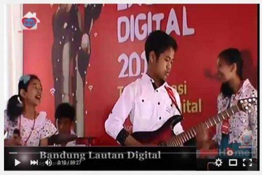Seribu siswa ikuti Bandung Lautan Digital