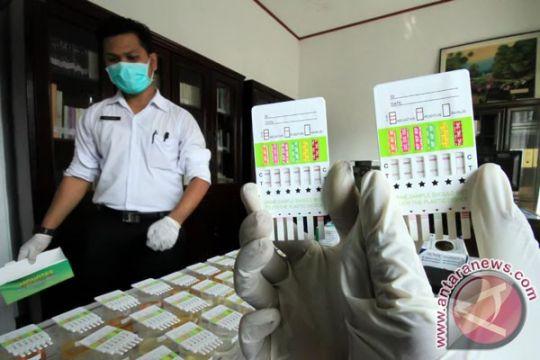 Lapas Palembang tes urine staf dan napi