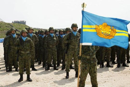 Jepang lakukan latihan militer di Gunung Fuji