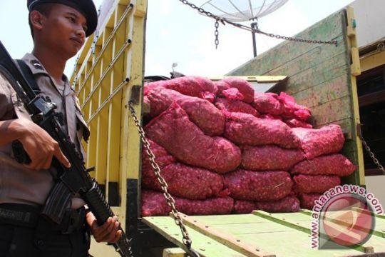 Polisi gagalkan penyelundupan bawang di Bengkalis