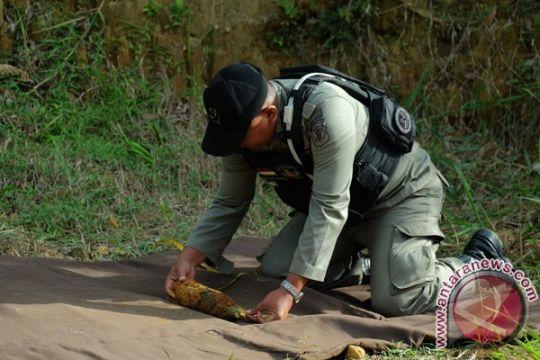 Pekerja proyek temukan bom Perang Dunia II di Jayapura