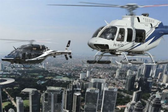 Whitesky dukung pembangunan helipad di Jakarta