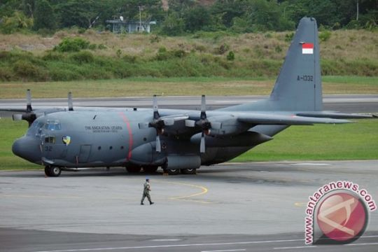 Pesawat Hercules TNI AU hilang kontak di Wamena