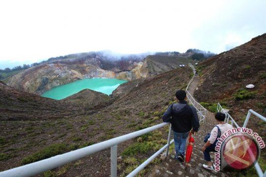 Wisata Danau Kelimutu kembali kembali dibuka
