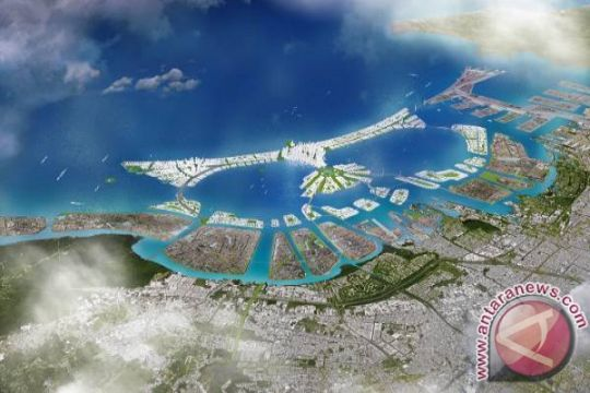Reklamasi Teluk Jakarta untuk pusat pemerintahan