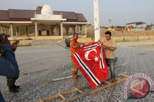 TNI-Polri: Tidak ada pengibaran bintang bulan di pantai barat Aceh