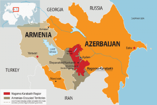 Armenia serang permukiman sipil, Azerbaijan ancam tindakan balasan