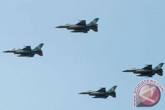 Belasan F-16 dikerahkan untuk Angkasa Yudha 2016 di Natuna