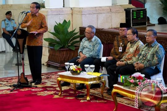 Presiden Jokowi minta daerah berperan menaikkan daya saing