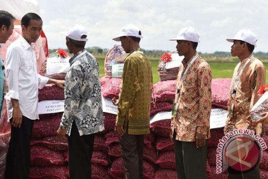 Presiden Jokowi tugaskan BUMN bantu sistem pergudangan bawang