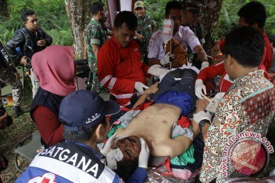 Jenazah pendaki Gunung Slamet dievakuasi tim SAR gabungan