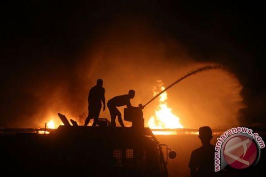 Kebakaran melanda pemukiman di Cempaka Putih