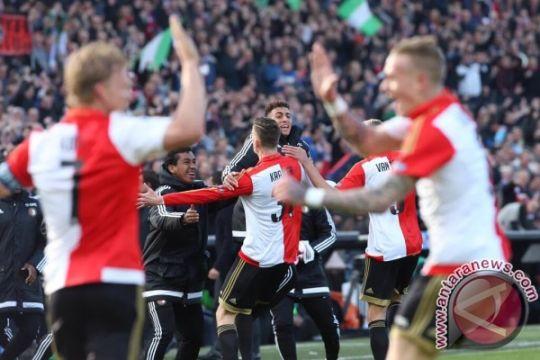 Feyenoord kalahkan NEC, jaga catatan sapu bersih sembilan laga