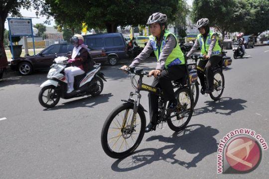 Polres Langkat gelar patroli bersepeda rutin