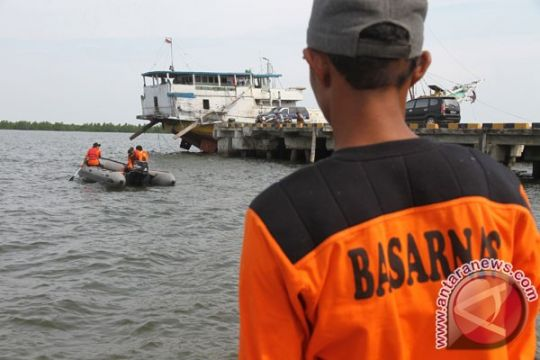 Seorang ABK hilang kecelakaan kapal di Riau