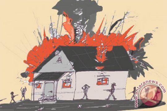 Dalang pembakar tujuh sekolah ditahan di Mako Brimob