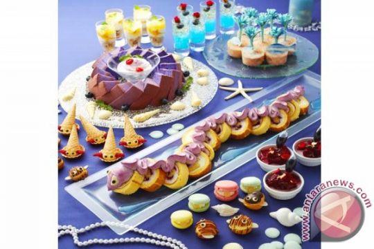 "Memperingati 180 tahun dongeng Putri Duyung, Keio Plaza Hotel Tokyo gelar event ""Little Mermaid Dessert Buffet"""
