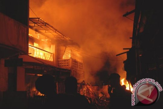 Polisi selidiki kebakaran Pasar Pelita di Kota Sukabumi