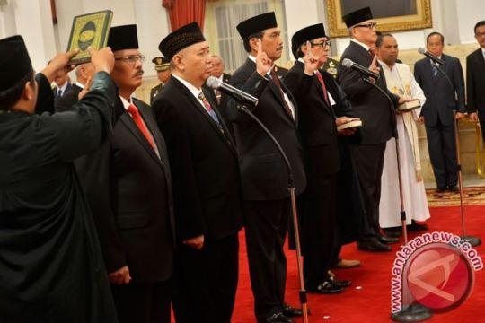 Presiden Jokowi lantik sembilan anggota Kompolnas
