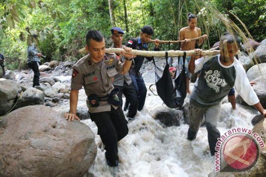 Korban banjir bandang ditemukan di Tuntungan