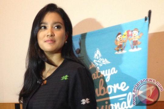 Marcella Zalianty dukung edukasi anti-pembajakan