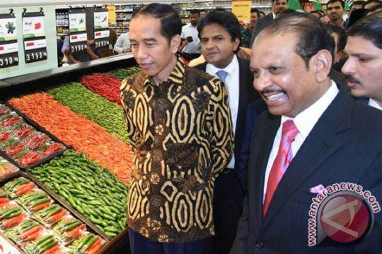 Presiden Jokowi ingin Lulu Hypermarket jadi pintu ekspor ke Timteng, Asia