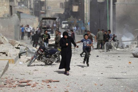Lima anak tewas dalam serangan di sekolah Suriah