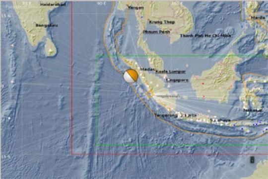 Gempa Painan dipicu sesar aktif Mentawai