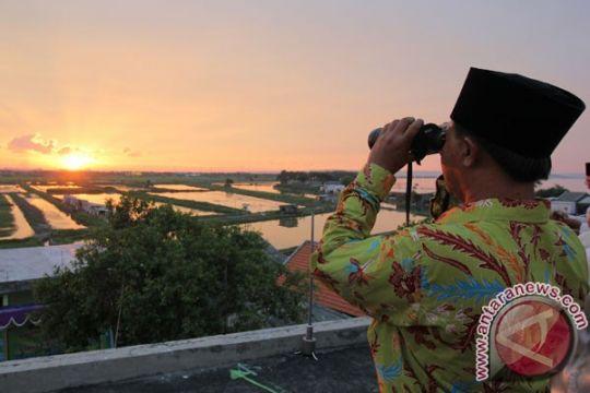 NU Jatim: hilal terlihat di Bangkalan-Gresik