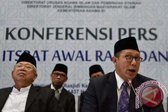 Sidang isbat Ramadhan dilakukan tertutup