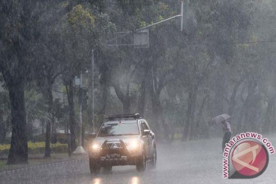 Hujan diprakirakan guyur sebagian Jabodetabek hari ini