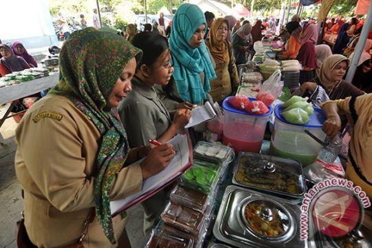 BPOM : takjil kawasan Masjid Al-Akbar Surabaya berformalin