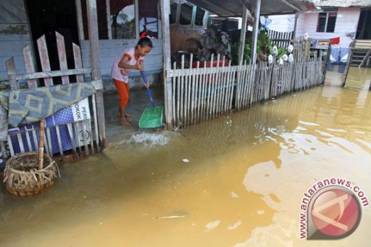 Banjir rob landa Aceh Barat